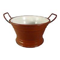 Granite Enamel Miniature Bowl with Handles