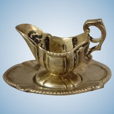 Miniature Sterling Gravy and Underplate