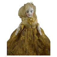 "5 1/2"" Doll House Lady in Lace Dress"