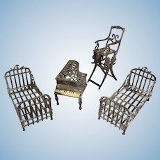 French Simon et Rivollet Furniture for Doll House