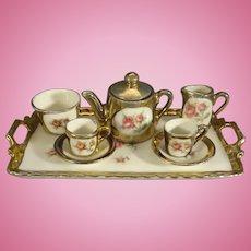 Miniature Antique Tea Set from England