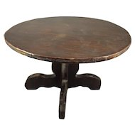 Doll Size Round Pedestal Table