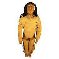"""9"""" Native American Iroquois Doll"""