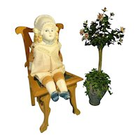 """5 1/2"""" Bonnet Head with Sculpted Shoulder Plate and Bow"""