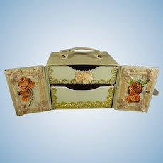 French Fashion Jewelry Case with Two Drawers