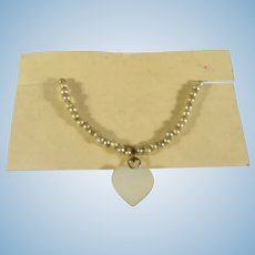 French Fashion Heart Pendant Necklace