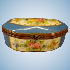 Miniature Porcelain Limoge Box
