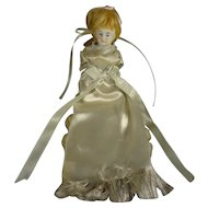 All Bisque Sewing Doll