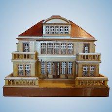Wonderful Red Roof Doll House by Gottschalk