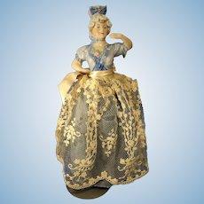 "10"" Porcelain Molded Bodice Doll"