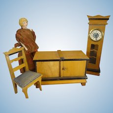 Art Deco Doll House Furniture