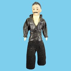 """6"""" Handsome Doll House Dude with Moustache"""