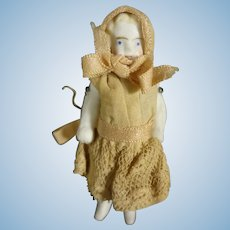 """2 1/2"""" All Bisque Doll with Provenance"""