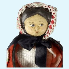 "11"" Wood Doll with Side Glancing Eyes"