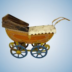 Penny Toy Tin Carriage