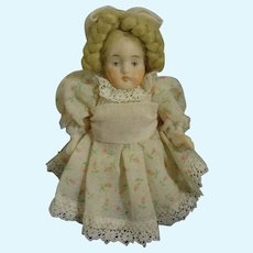 """4"""" All Bisque Artist Doll with Articulated Limbs"""