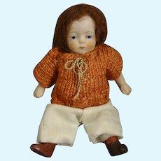 "3 3/4"" All Bisque Doll Articulated Limbs"