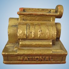 Miniature Cast Iron National Cash Register
