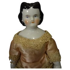 "Rare Black Hair China ""Adelina Patti"""