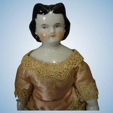 "Rare Black Hair China ""Adelina Patti"""