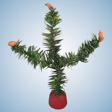 Small Feather Tree for Doll House