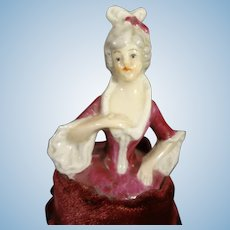 Lovely Half Doll with Hands Away and Attached to Skirt