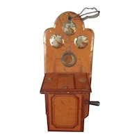 Antique Miniature Doll House Phone
