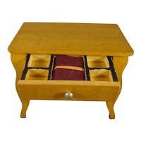 Miniature Sewing Table for Doll House