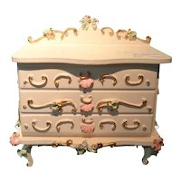 Spielwaren Dresser for Doll House or Miniature Display