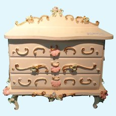 Spielwaren Dresser for Doll House or Miniature Display
