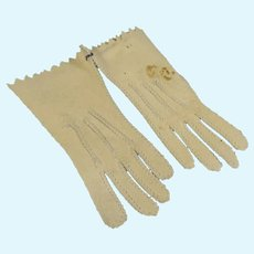 French Fashion Leather Gloves