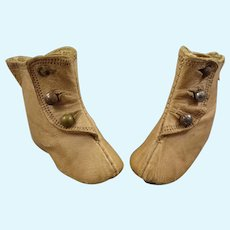 Antique Keystone 2 Fashion Doll Boots