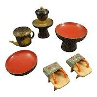 Group Oriental Miniature Items