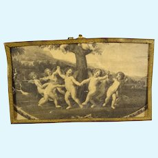 Doll House Picture of Dancing Putti