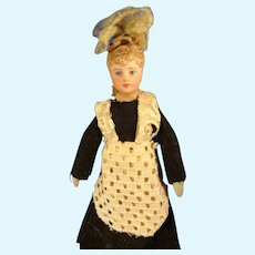 """5"""" Doll House Maid in Original Costume"""