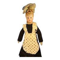 """5"""" Doll House Maid with Sculpted Bun"""