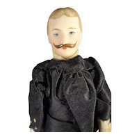 "7"" Doll House Man with Moustache"