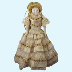 "9 1/2"" Parian Doll in Gorgeous Dress"