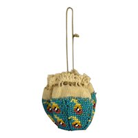 Fashion Doll's Antique Beaded Purse