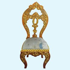 Very Ornate Miniature Chair by Gerhard Sohlke
