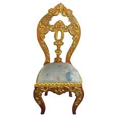 Very Ornate Miniature Chair by Gerhard Sohlke