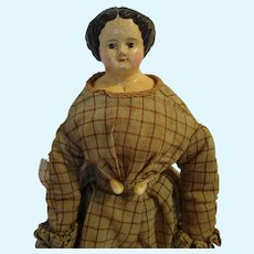 """Very Early 13"""" Papier Mache by Muller & Strassburger"""