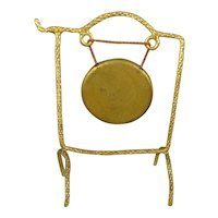 Ormolu Dinner Gong for Doll House