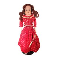 "15"" German Bisque Lady Doll with Sleep Eyes"