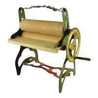 Miniature Mangle for Doll House from England