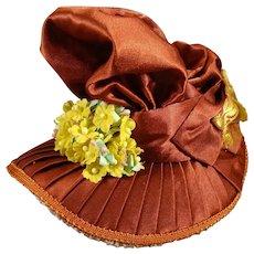 Fancy Doll's Bonnet by Pipkin & Bonnet
