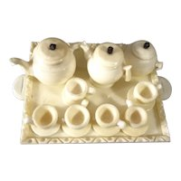 Doll House Tea and Coffee Set on Tray