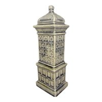 Porcelain Parlor Stove for Doll House Display