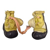 Pair Small Leather Boxing Gloves