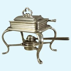 William Meyers Miniature Sterling Chafing Dish